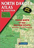 North Dakota Atlas, Mapping Delorme, 0899332323