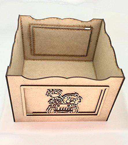 Caja Infantil M, Centro De Mesa, Mesa De Dulces Madera Mdf!!1 pieza