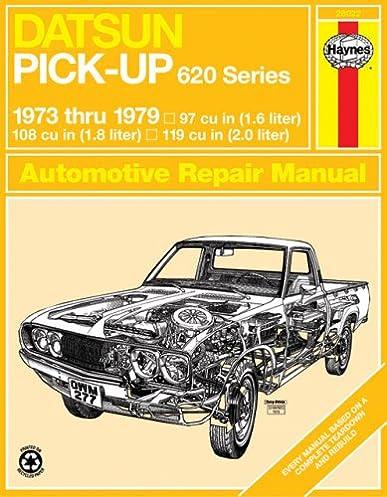datsun 620 pick up, 1973 79 (haynes repair manuals) haynes john deere 620 wiring diagram datsun 620 pick up, 1973 79 (haynes repair manuals) 1st edition