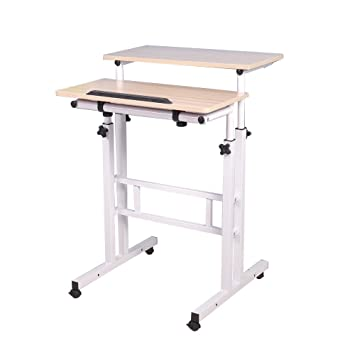 lacyan altura ajustable pie portátil escritorio sofá mesa portátil mesa de ordenador