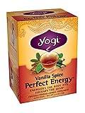Yogi Vanilla Spice Perfect Energy Tea, 16 Tea Bags (Pack of 6), 1.19lbs