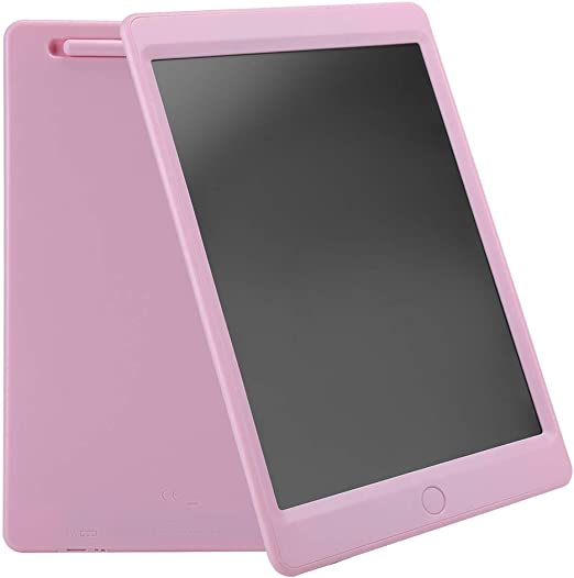 10.5インチ LCDライティングボード ポータブルライティングボード ドローイングボード LCDスクリーン手書きパッド カラー手書き描画板 子供用ドラフトペインティング(ピンク)