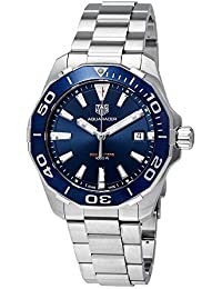 Aquaracer Blue Dial Mens Watch WAY111C.BA0928