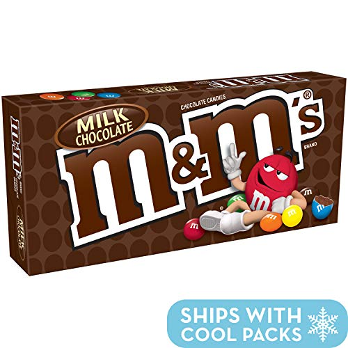 - M&M'S Milk Chocolate Candy Movie Theater Box,3.1 Ounce, Pack of 12