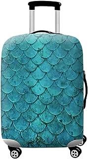 Moberlin Valise Coque Housse - Étui à Housse élastique épaississant Lavable à l'épreuve des égratignures apte à 18'-32' (Valise Non Inclus)