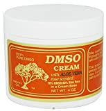 DMSO Cream with Aloe Vera Rose Scented – 4 oz pack of -10 For Sale