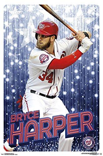 Mlb Wall - MLB Washington Nationals, Bryce Harper, 22