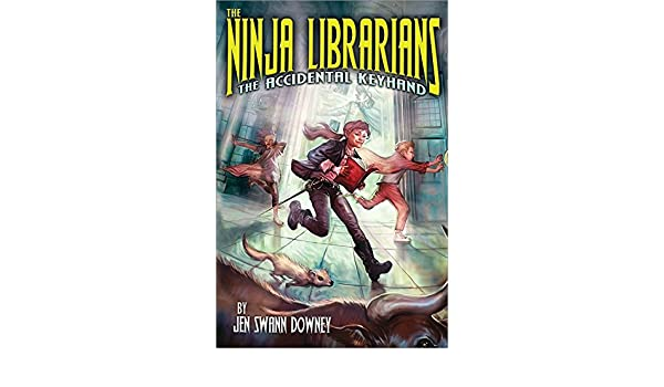 Ninja Librarians: The Accidental Keyhand: Amazon.es ...