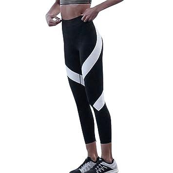 Damark Pantalones Mujer Deportivas Yoga Empalme Pantalones ...