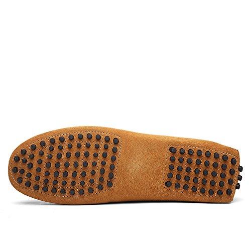2088 Mocassins Chaussures Travail on Élégant Slip Cfp Confort Jaune Conduire Hommes Occasionnels BwqIWdY