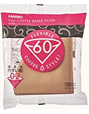 Hario V60 Paper Filter 100 Sheet - Natural Unbleached 02