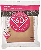 Appliances : Hario V60 Misarashi Coffee Paper Filter (Size 02, 100 Count, Natural)