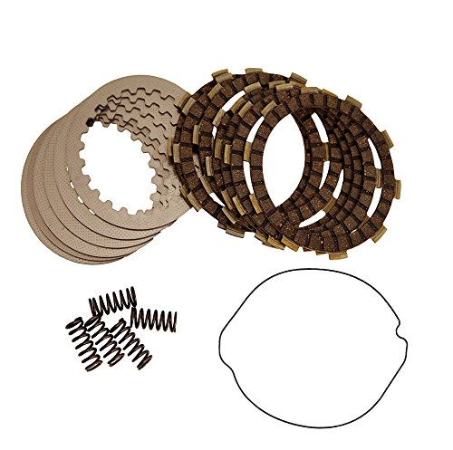 2000 Clutch - Outlaw Racing ORCK103 Clutch Kit With Gasket For Suzuki DR-Z400 2000-2003