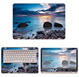 decalrus Protective Decal Ocean Scene Skin Sticker for Asus ZenBook Flip UX360UA (13.3'' Screen) case cover wrap ASzenbkUX360ua_13-255
