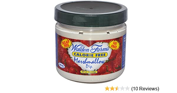 Walden Farms Calorie Free Marshmallow Dip, 12 Ounce - 6 per case.: Amazon.com: Grocery & Gourmet Food