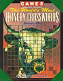 Games Magazine Presents the World's Most Ornery Crosswords, Will Shortz, 0812920813