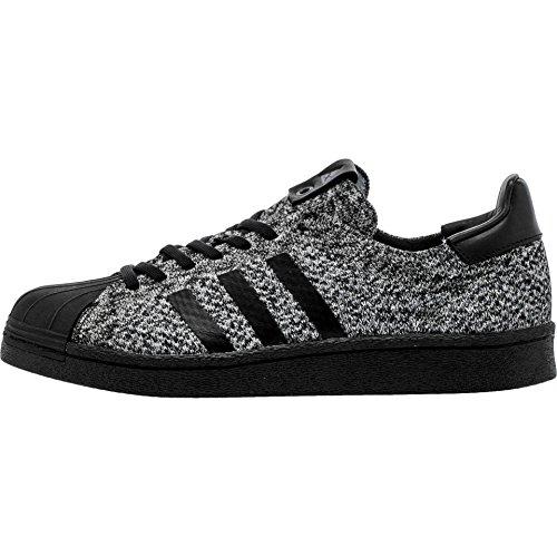 Adidas Consortium X Sneakersnstuff X Status Sociale Uomini Superstar Boost Sneaker Exchange (bianco / Nero)