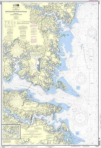 Amazon Com Noaa Chart 12235 Chesapeake Bay Rappahannock River Entrance Piankatank And Great Wicomico Rivers 0852675837944 Books