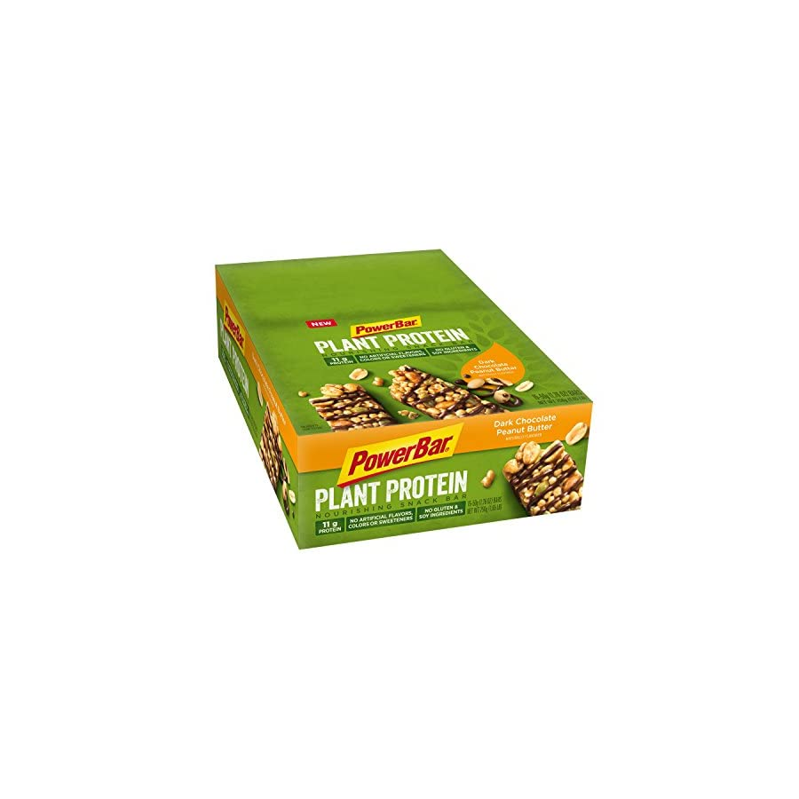 PowerBar Plant Based Protein Nourishing Snack Bars