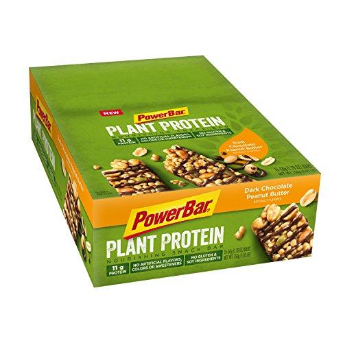 PowerBar Plant Based Protein Nourishing Snack Bars