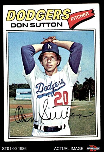 1977 Topps # 620 Don Sutton Los Angeles Dodgers (Baseball Card) Dean's Cards 4 - VG/EX Dodgers