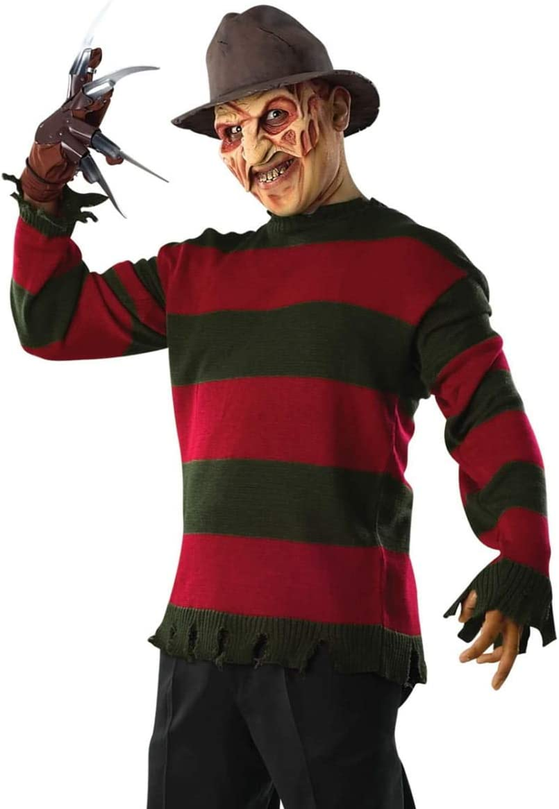 Horror-Shop jersey de Freddy Krueger One Size: Amazon.es: Juguetes ...
