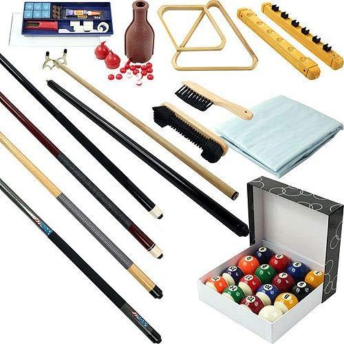 Aromzen 32-Piece Billiards Accessories Kit for Pool Table