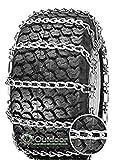 John Deere Cub Cadet Garden Tractor Tire Chains 23-10.50-12 (2) Link