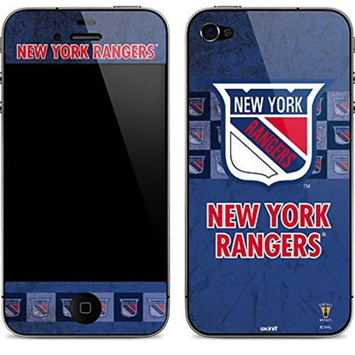 NHL New York Rangers iPhone 4&4s Skin - New York Rangers Vintage Vinyl Decal Skin For Your iPhone 4&4s (New York Rangers Iphone 4 Case)