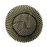 BlueMake Woven Seagrass Belly Basket for Storage