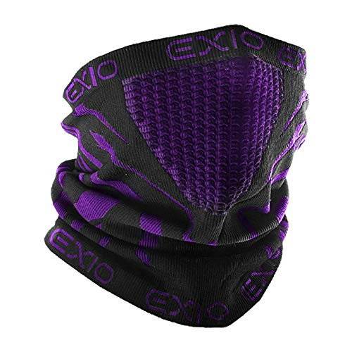 EXIO Winter Neck Warmer Gaiter/Balaclava - Windproof Face Mask for Ski, -