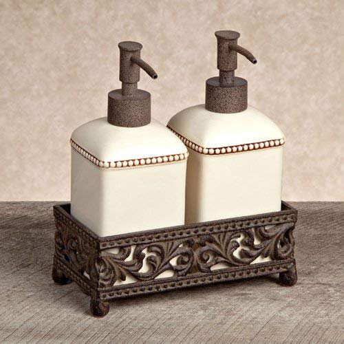 GG Collection Soap and Lotion Pump Set with Metal Base - by GG Collection