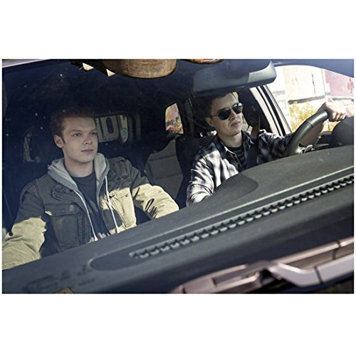 Shameless Cameron Monaghan as Ian Driving with Mickey 8 x 10 Inch - Macy's Bend Or