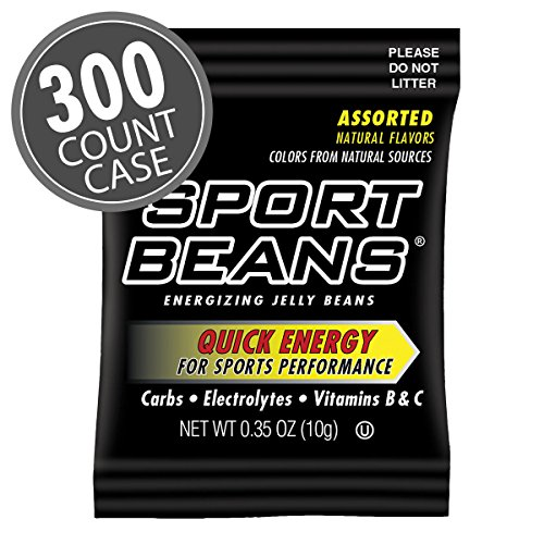 Sport Beans: .35 oz Assorted Sample Bags 300-Pack by Sport Beans
