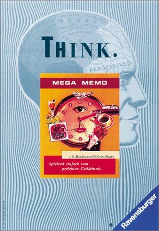 Think, Mega Memo (Spiel) m. Trainingsbuch Gebundenes Buch – 1997 Bernd Haussmann Roland Geisselhart Ravensburger Buchverlag 3473420182