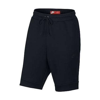 ab4d5a81f849dd Nike Herren M NSW Tech Fleece Kurze Hose Schwarz 2XL: Amazon.de ...