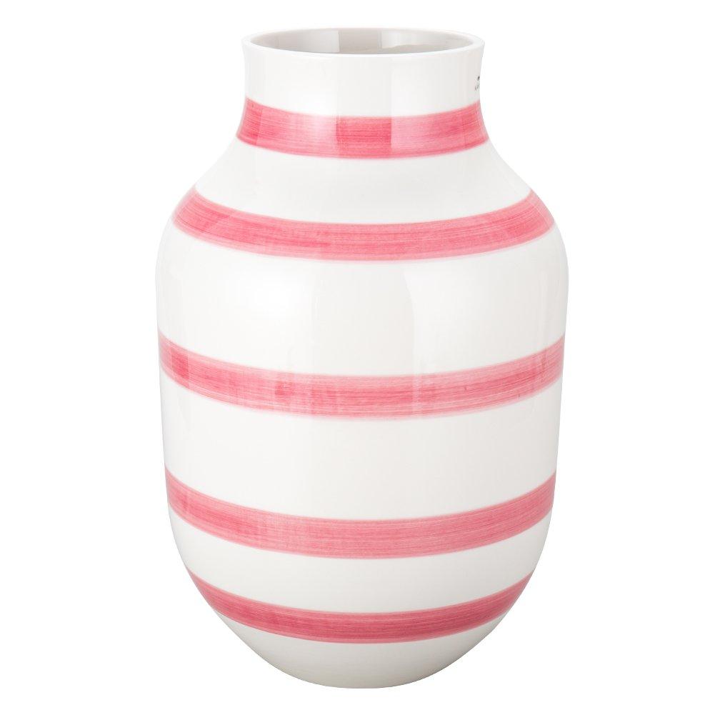 [ ケーラー ] Kahler オマジオ フラワーベース ラージ 30.5cm 花瓶 13036 ローズ Omaggio Vase H305 Rose 花びん ベース 北欧雑貨 [並行輸入品] B0783NQY5W ローズ ローズ