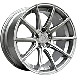"""19"""" UP100 Staggered Wheels Set fits BMW in Silver Machine..."""
