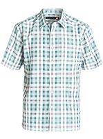 Quiksilver Mens Westbrook Button Up Short-Sleeve Shirt