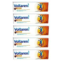 5 Pack For Voltaren Emulgel 1.16% relief gel for muscle, joint, back pain