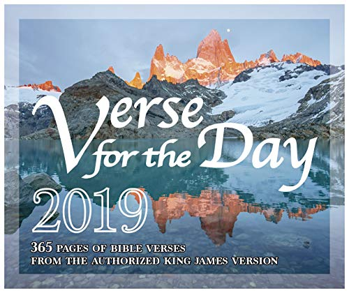 365 Bible Verse for the Day - 2019 Daily Desk Calendar with KJV Scripture]()