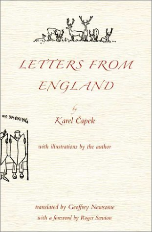 book cover of Letters from England