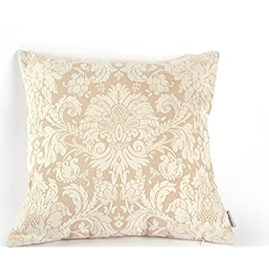 Noblidonna Chinese Embroidery 18 *18  Throw Pillow Cover Flowers BZ51334