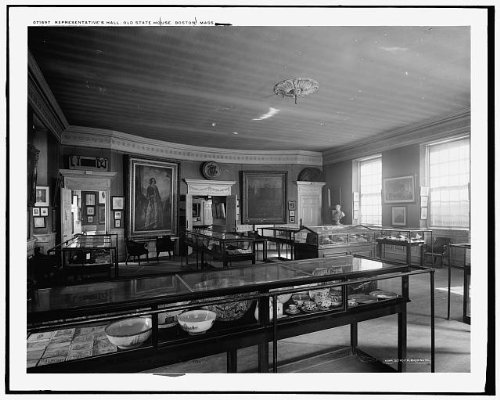 Photo: Representatives' Hall,looking east,Old State House,Boston,Massachusetts,MA,c1900