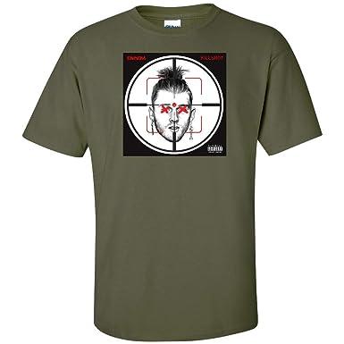 318852d0337f3 Amazon.com: Eminem Killshot T Shirt Kamikaze Military: Clothing