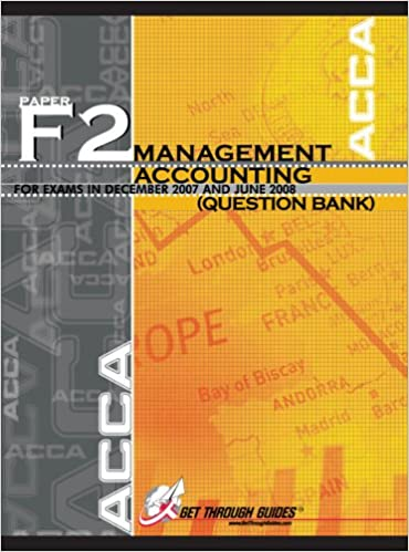 ACCA F2 Question Bank - Management Accounting - Question