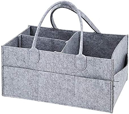 Nursery Storage Bin Changing Table Baby Shower Gifts Basket for Boys