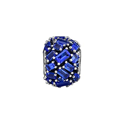 d2455e10b Image Unavailable. Image not available for. Color: Ochoos Chiselled  Elegance Charm Fits 925 Sterling Silver Original ...