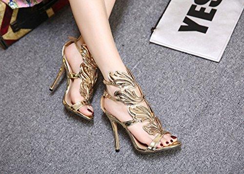 CHENCH Frauen 2017 Schuhe Mit Feinen Ferse Und Zehen Sandalen