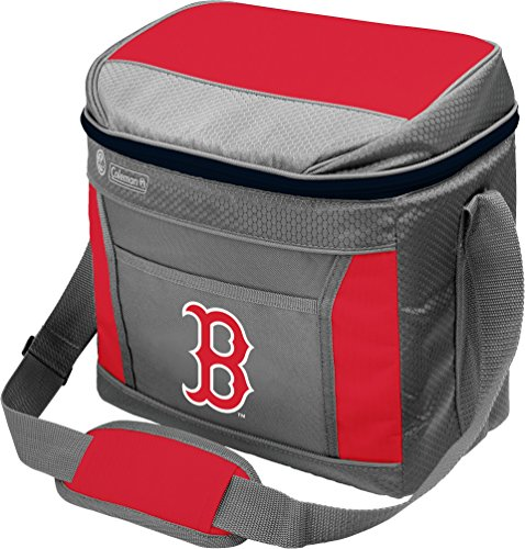MLB Unisex Coleman 24 Hour - 16 Can Soft Sided Cooler - Boston Red Sox